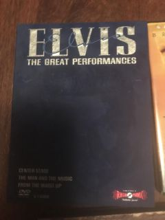 Elvis the great performance dvd