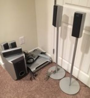 Sony 5 Disc CD Changer with Surround Sound