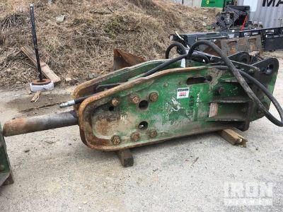 2012 Okada TOP 200 Hydraulic Breaker - Fits John Deere 160G
