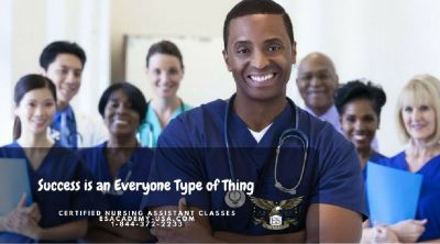 Be a certified nursing assistant at E&S Academy. Call now and register!
