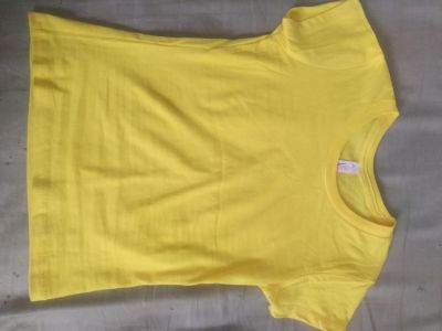 Small yellow childs T-shirt