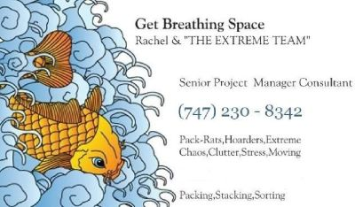 Discreet Professional Organizing & Move Related Packing Services `Extreme Chaos Specialists