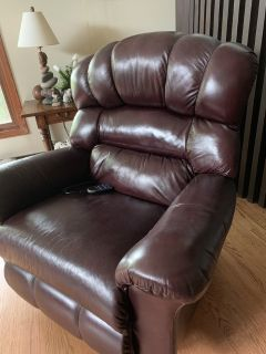 Lazy Boy Leather Recliner Chair