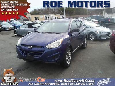 2010 Hyundai Tucson GLS (Aurora Blue)