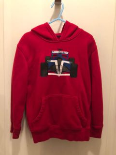 JUMPING BEANS: Red Race Car Hoodie