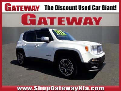 2015 Jeep Renegade Limited (Alpine White)