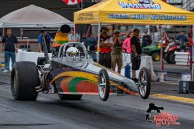 2014 American dragster with low runs on it