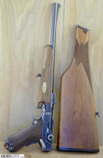 For Sale: Luger 1920 Carbine 30 Luger With Stock P-08