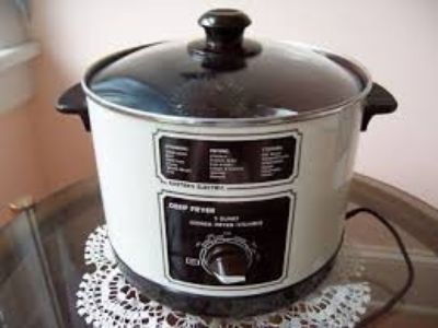 5qt Eastern Electric Deep Fryer/Steamer
