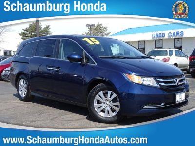 2015 Honda Odyssey EX-L w/DVD (Blue)