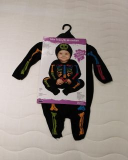 New 6-12 month bones outfit