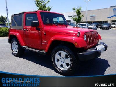 2011 Jeep Wrangler Sahara (Flame Red)
