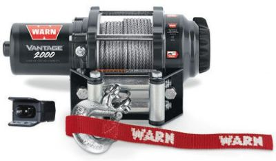 Purchase Warn ATV Vantage 2000lb Winch w/Mount 2012-2016 CanAm 1000G2 Renegade motorcycle in Northern Cambria, Pennsylvania, United States, for US $279.95
