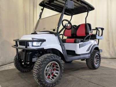 2015 Club Car Electric Golf Cart DELUXE, Alpha White