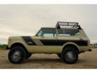 1978 International Harvester Scout Scout II 5.7 Liter V8