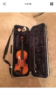Suzuki Full or 4/4 Size Student Violin Outfit