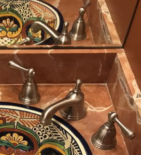 Bathroom Faucets for Two Sinks (Only 1 is shown)