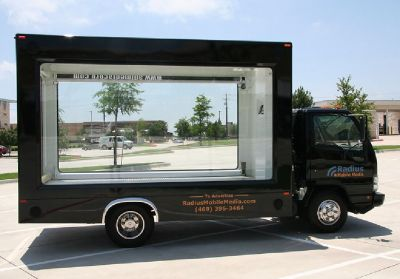 Mobile billboard advertising gives lasting impression of products