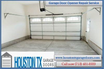 Residential Garage Door Opener Installation in Houston, TX