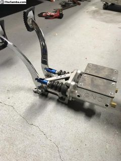 CNC pedal assembly, brake clutch pedal NEW