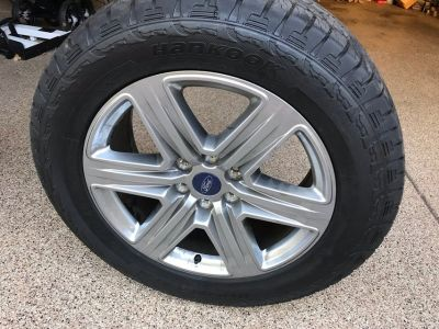 Factory Ford F-150 Tires/Wheels-NEW