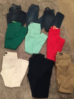 Name brand jeans / pants Priced Separately