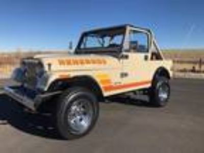 1984 Jeep CJ7 Renegade Convertible