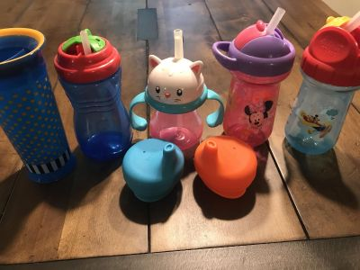 Lot of kids cups
