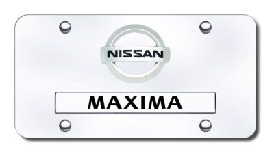 Purchase Nissan Dual Maxima (New) CHR/CHR License Plate Made in USA Genuine motorcycle in San Tan Valley, Arizona, US, for US $35.13