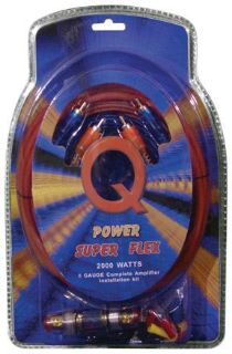Sell 8 Gauge Amp Kit Super Flex Qpower 8gampkitsflex Wire motorcycle in Hicksville, Ohio, United States, for US $24.79