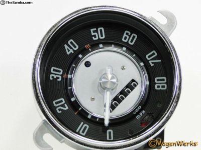 Bug Speedometer - 1953 to 1960 3-60 - Rebuilt