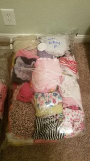 Bundle of clothes for 0-3mos girl