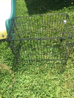Dog cage as is.