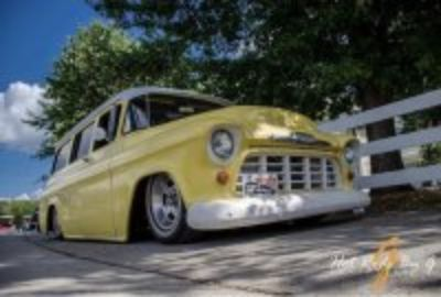 1956 Chevrolet Suburban air ride