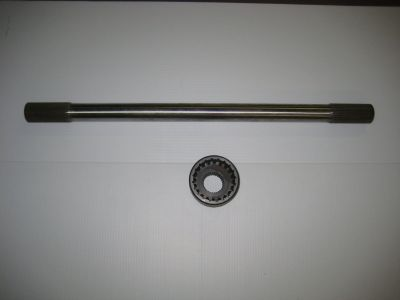 Female Coupler & Drive Shaft