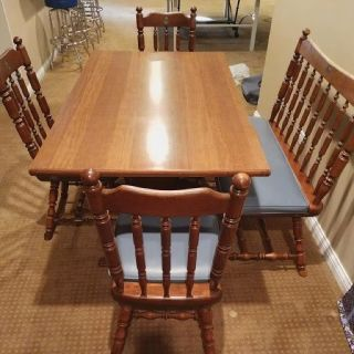 Maple Kitchen /Dining set