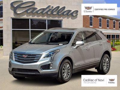 2018 Cadillac XT5 Luxury AWD (radiant silver metallic)