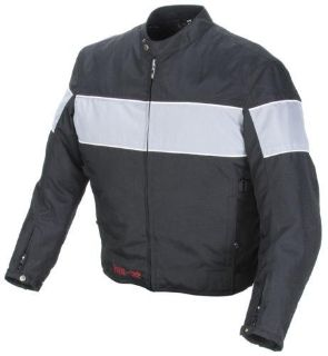 Purchase Power Trip Jet Black II Motorcycle Jacket Black Gray Size Large motorcycle in South Houston, Texas, US, for US $116.99