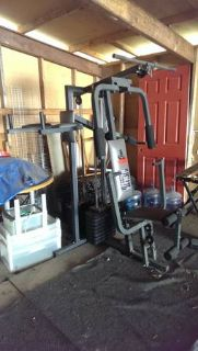 Weider all in one 8530 gym