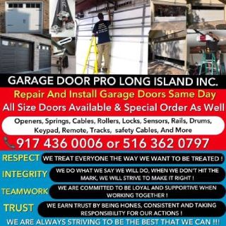 ALWAYS PROFESSIONAL GARAGE DOOR REPAIR AND INSTALLATION SERVICE NY& LI