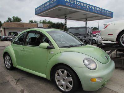 2003 Volkswagen New Beetle GLX 1.8T (Green)