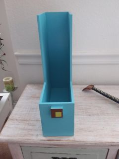 Cute wooden file/mag. Organizer. Xposted. Other pics
