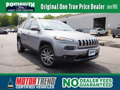 2017 Jeep Cherokee Limited (Billet Silver Metallic Clearcoat)