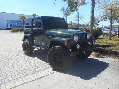 1998 Jeep Wrangler Sahara (Green (Dark))