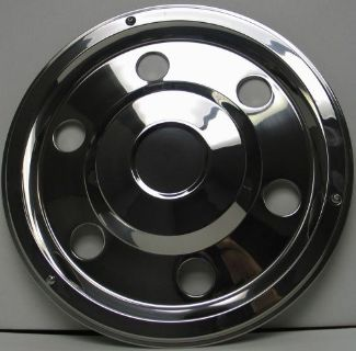 "Buy TRAILER STAINLESS STEEL WHEEL SIMULATOR WHEEL COVERS 17.5"" SET OF 6 motorcycle in Almo, Kentucky, United States, for US $345.95"