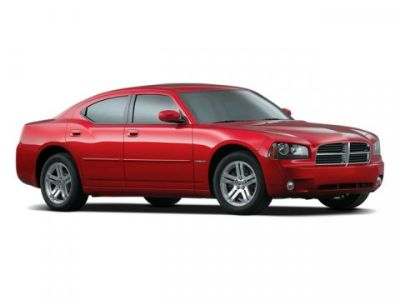 2009 Dodge Charger SXT (Inferno Red Crystal Pearl)