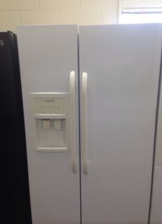 Frigidaire White Side by Side Fridge