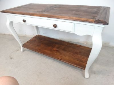 Farmhouse Country Style Sideboard Entry Table