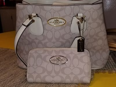 knock off coach bag &wallet