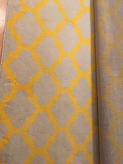 Beige and Yellow Carpet 8 x 10